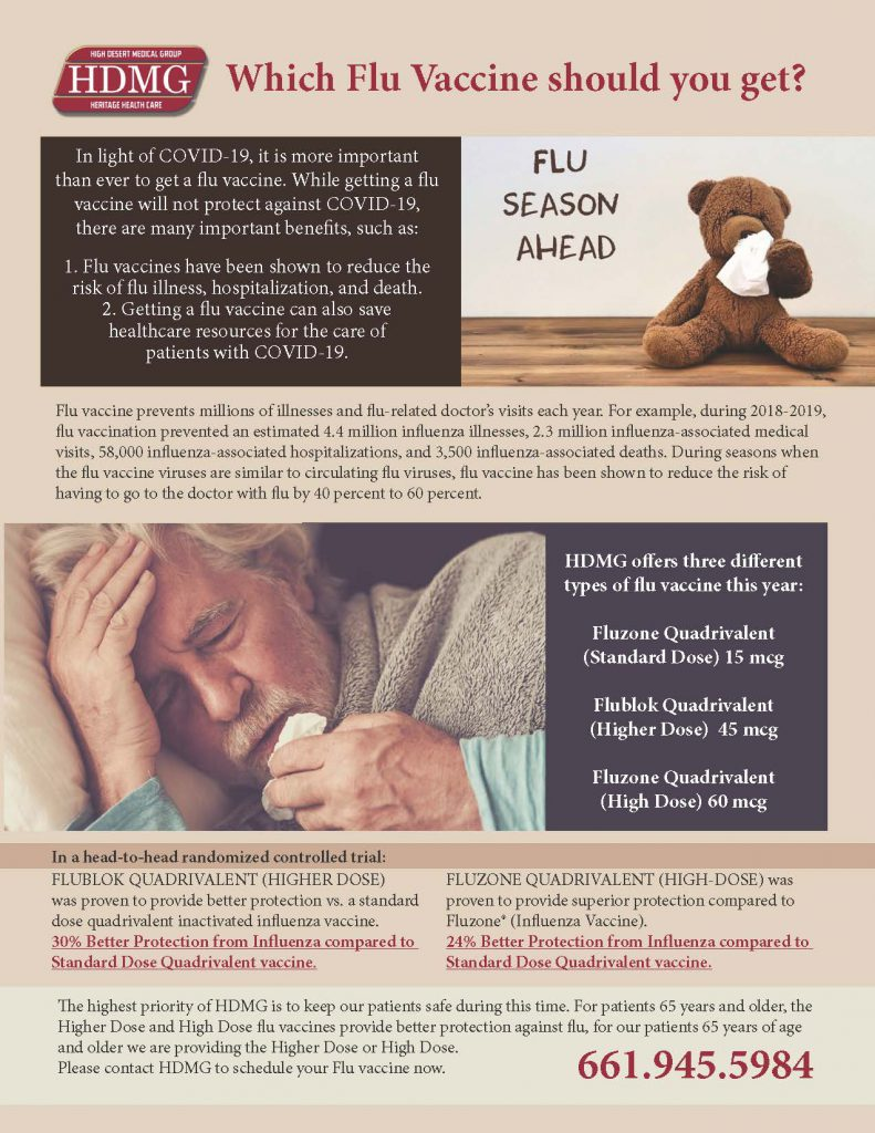 Which Flu Vaccine Should You Get? Graphic